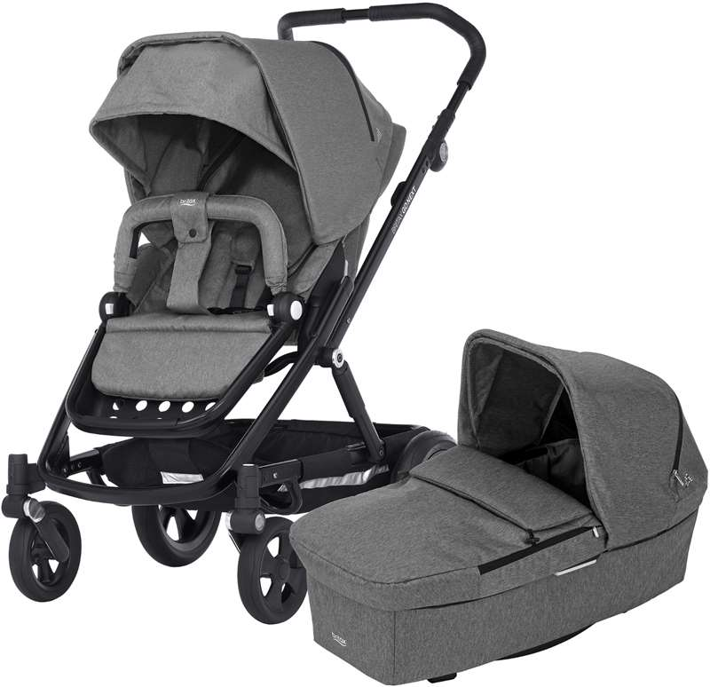Britax Go Next – Grey melange/black