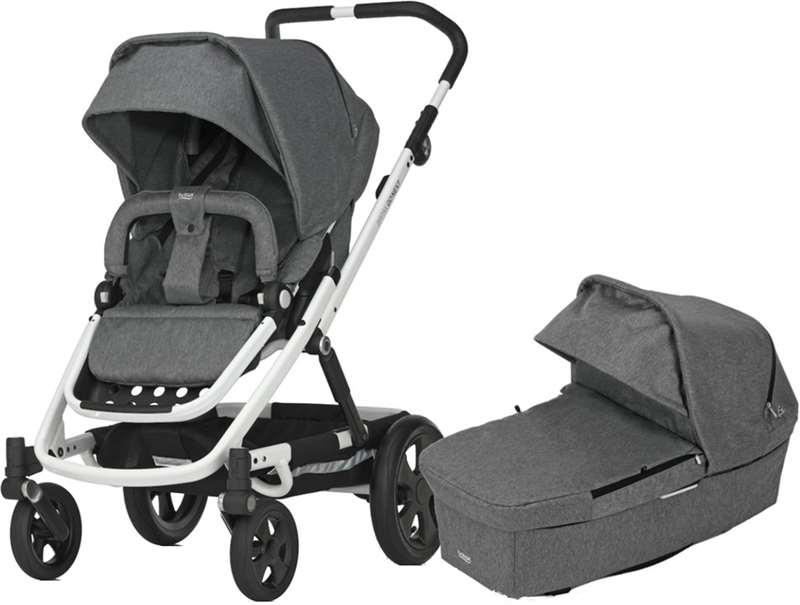 Britax Go Next – Grey melange/white